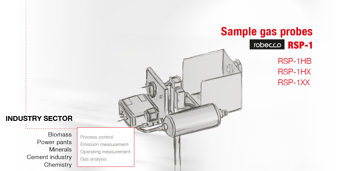 Sample gas probe RSP-1