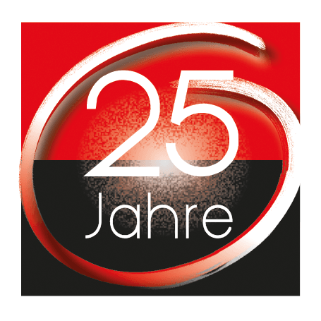 Jubliäums-Ikon 25 Jahre robecco